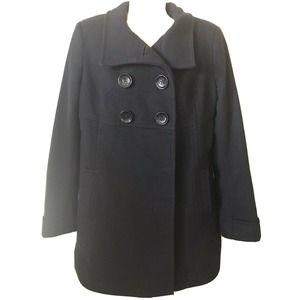 Michael Kors Double Breasted Wool Coat Jacket